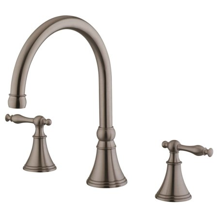 LessCare Bathroom Faucet LB7B, Brushed Nickel Finish (6-12 In Spread)