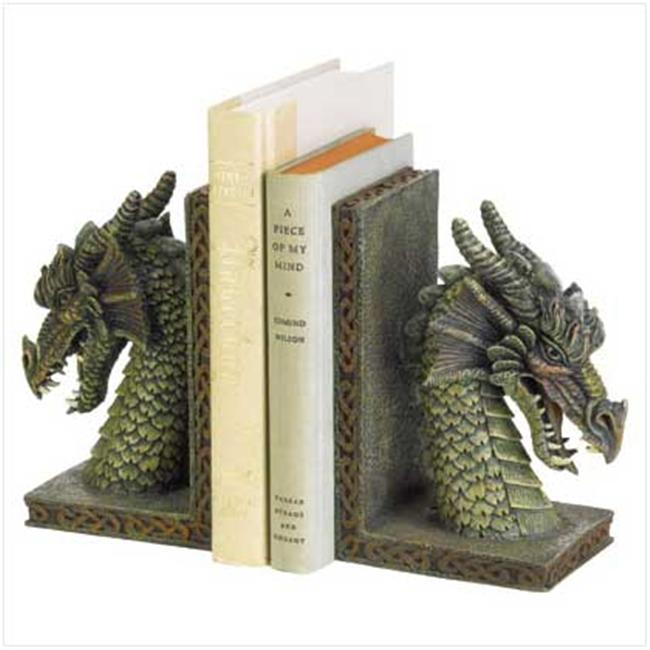 SWM 37978 Fierce Dragon Bookends