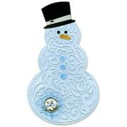 Sizzix Bigz Die w/Bns TIEF Snowman & Hat by Beth Reames