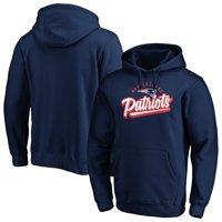 Men's Fanatics Branded Navy New England Patriots Super Sweep Pullover Hoodie