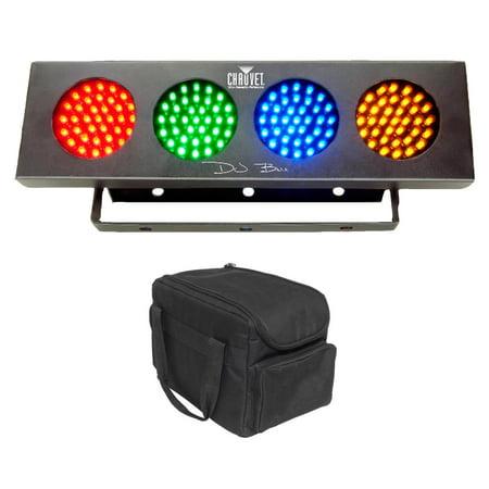 Chauvet DJ Bank RGBA 140-LED Sound Active Wash Effect Light Strip + Carry Bag