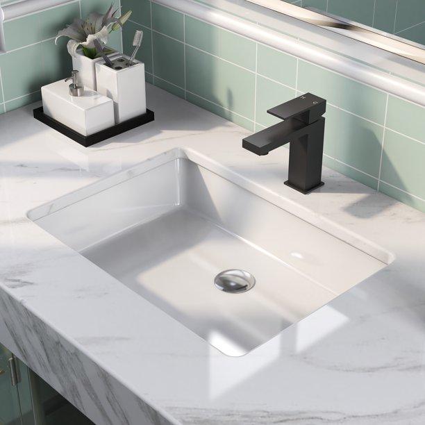Deervalley Dv 1u202 White Ceramics, Bathroom Sinks Undermount Small