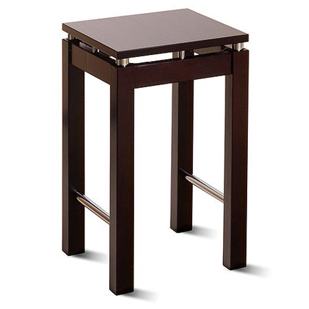 Linea Square Counter Stool 24   Espresso