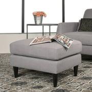 Studio Designs Home Allure Ottoman, Heather and Sand