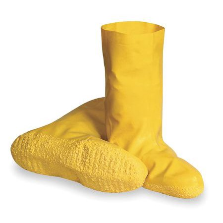 Value Brand Size 2XL Plain Toe Hazmat Overboots, Men's, Yellow, 478367 - Hazmat Fire Boots
