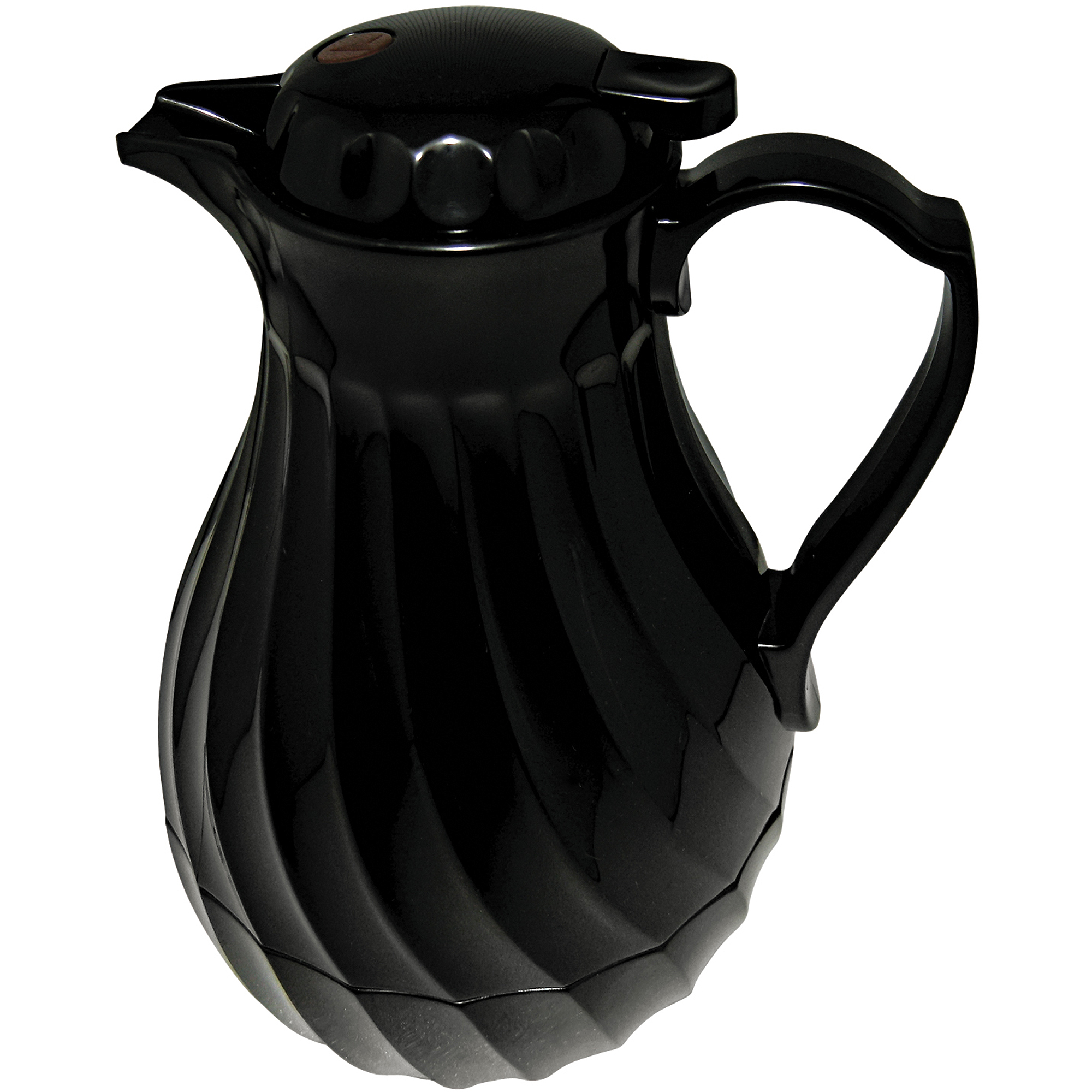 Hormel Black Swirl Design Poly Lined Carafe, 40 fl oz