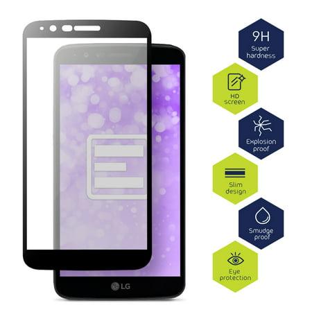 LG G Stylo 3 Tempered Glass Screen Protector, Evocel [Full Screen Coverage] [Edge-to-edge] [9H Hardness] EvoGuard Phone Case for LG G Stylo 3 (2017 Release), 3