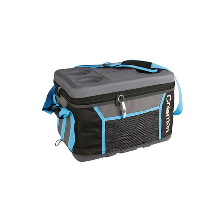 Coleman 75 Can Collapsible Sport Cooler - Gray/Blue (Coolers Color Picker)