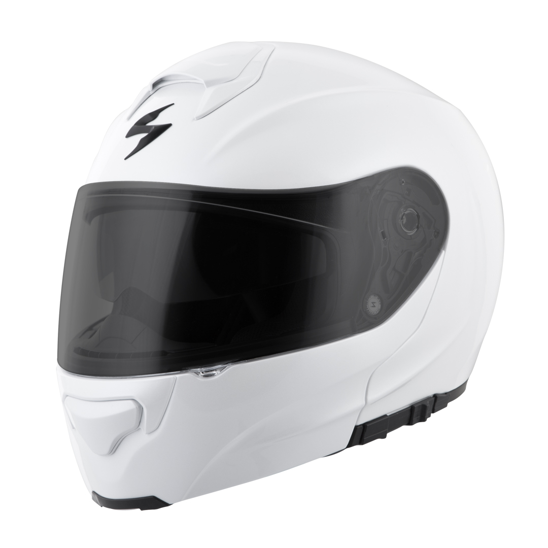 Scorpion EXO-GT3000 Modular Motorcycle Helmet with Sun Visor and AirFit® Custom Fit Liner - Clear Face Shield