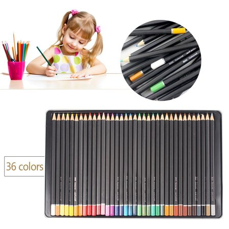 mont marte 36 pcs painting coloured pencils for drawing writing