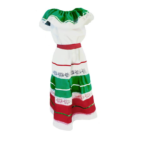 Women's Fiesta Cinco De Mayo Dress Costume - Disfraz De Halloween De Piratas
