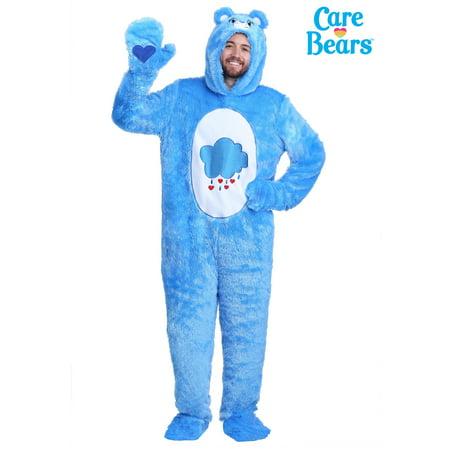 Green Care Bear Costume (Adult Plus Size Care Bears Classic Grumpy Bear)