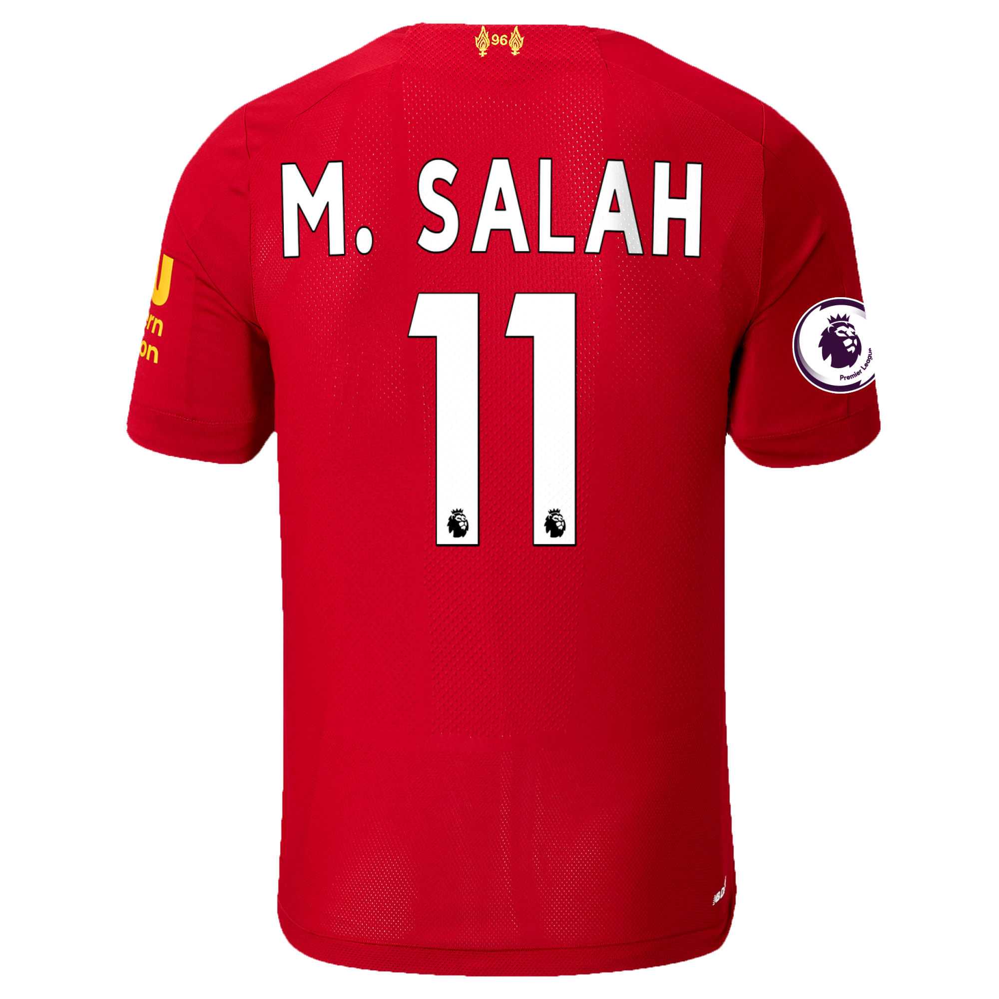 online retailer 26e35 ae380 Mohamed Salah Liverpool New Balance 2019/20 Home Authentic Player Jersey -  Red