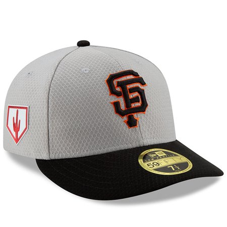 wholesale dealer ea4b2 20c07 San Francisco Giants New Era 2019 Spring Training Low Profile 59FIFTY  Fitted Hat - Gray Black - Walmart.com