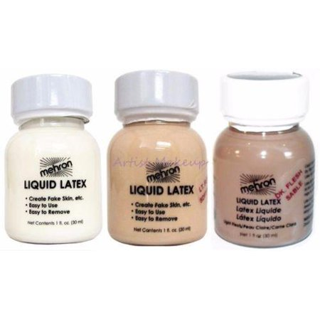 Mehron Liquid Latex Costume Make Up 1 OZ  - Wholesale Liquid Latex