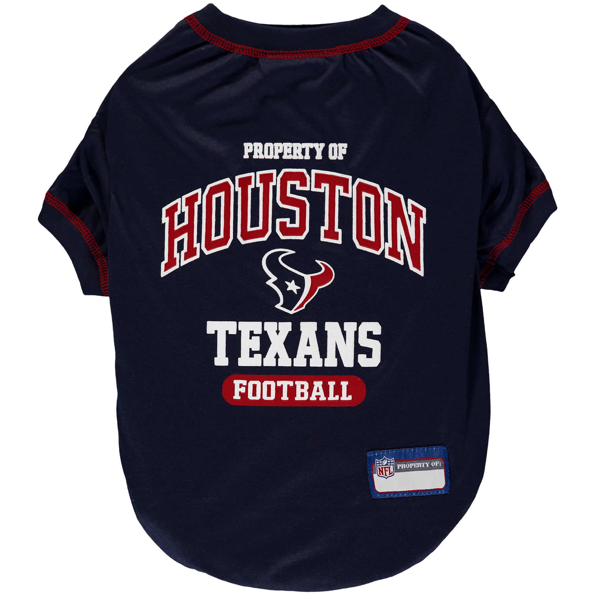 Houston Texans Pet T-Shirt