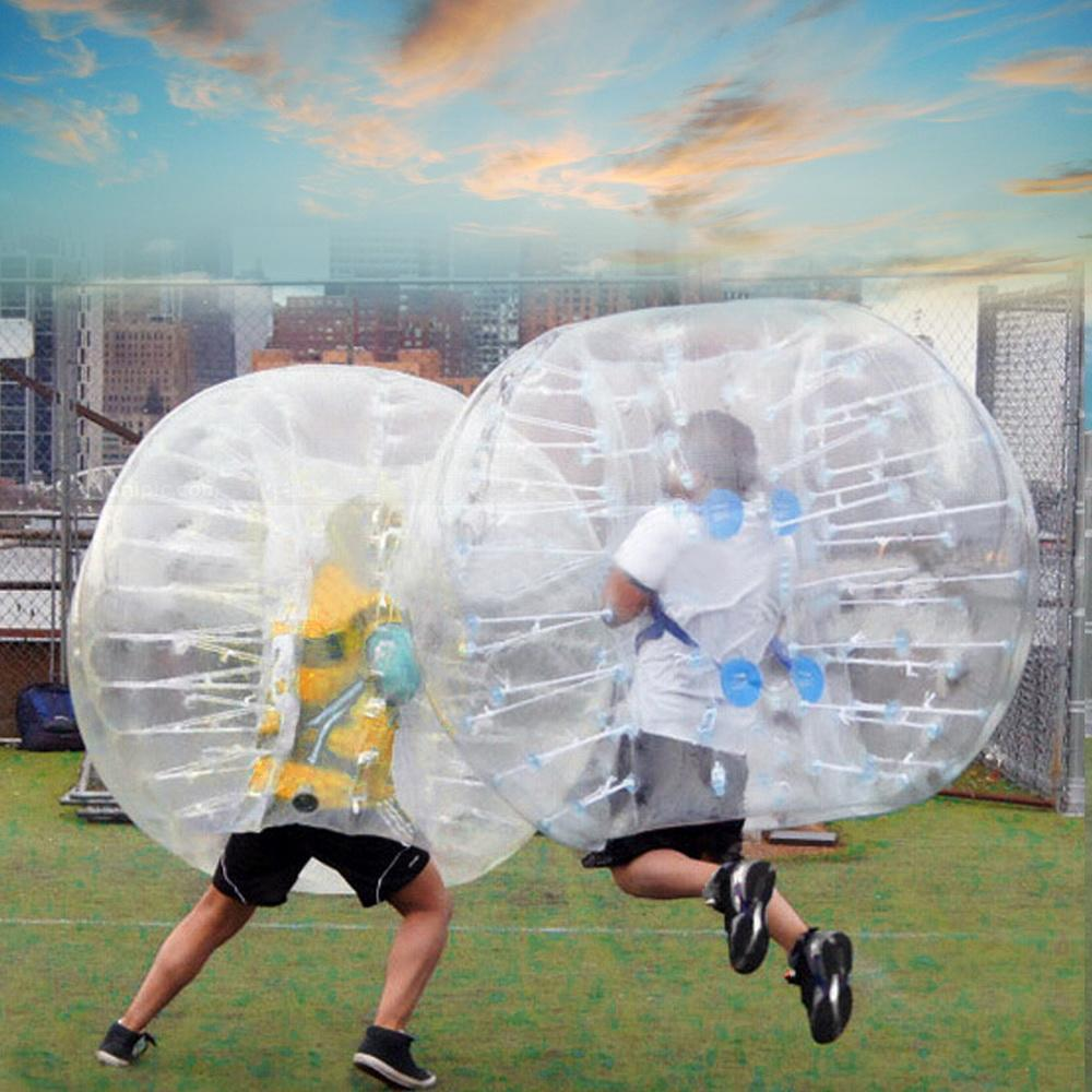 1.5M PVC Transparent Diameter Inflatable Bumperball Human Knocker Ball Bubble Soccer WIMA by