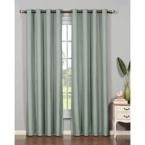 Euphoria Microfiber Room Darkening Grommet Curtain Panels by YMF Carpets Inc.