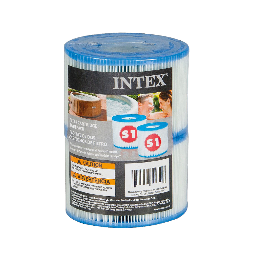 Intex PureSpa Filter Cartridge S1 Twin Pack