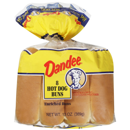 Dandee Hot Dog Buns, 8ct