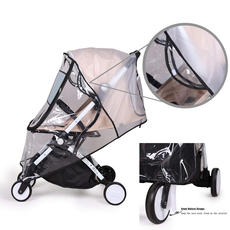 Bemece Universal Rain Cover for Pushchair Stroller Buggy Pram Baby Travel