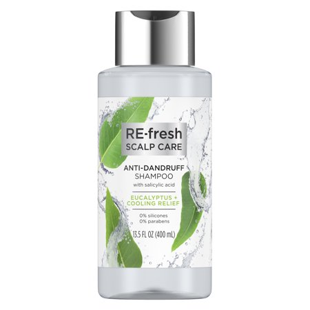 RE-fresh Scalp Care Shampoo Anti-Dandruff Eucalyptus & Cooling Relief Salicylic Acid 13.5