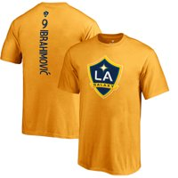 Zlatan Ibrahimovic LA Galaxy Fanatics Branded Youth Backer T-Shirt - Gold