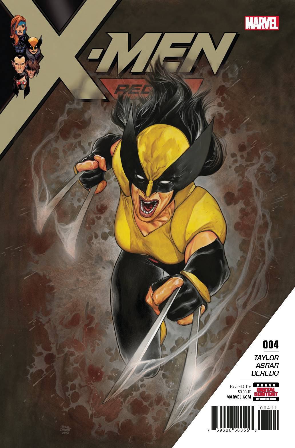 Marvel X-Men Red #4 by
