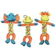 Boss Pet Products 1868223 Braided Pet Toy Rope Character, 12 in.