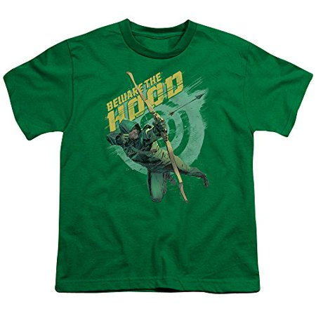 Arrow/Beware S/S Youth 18/1 Kelly Green   Arw114