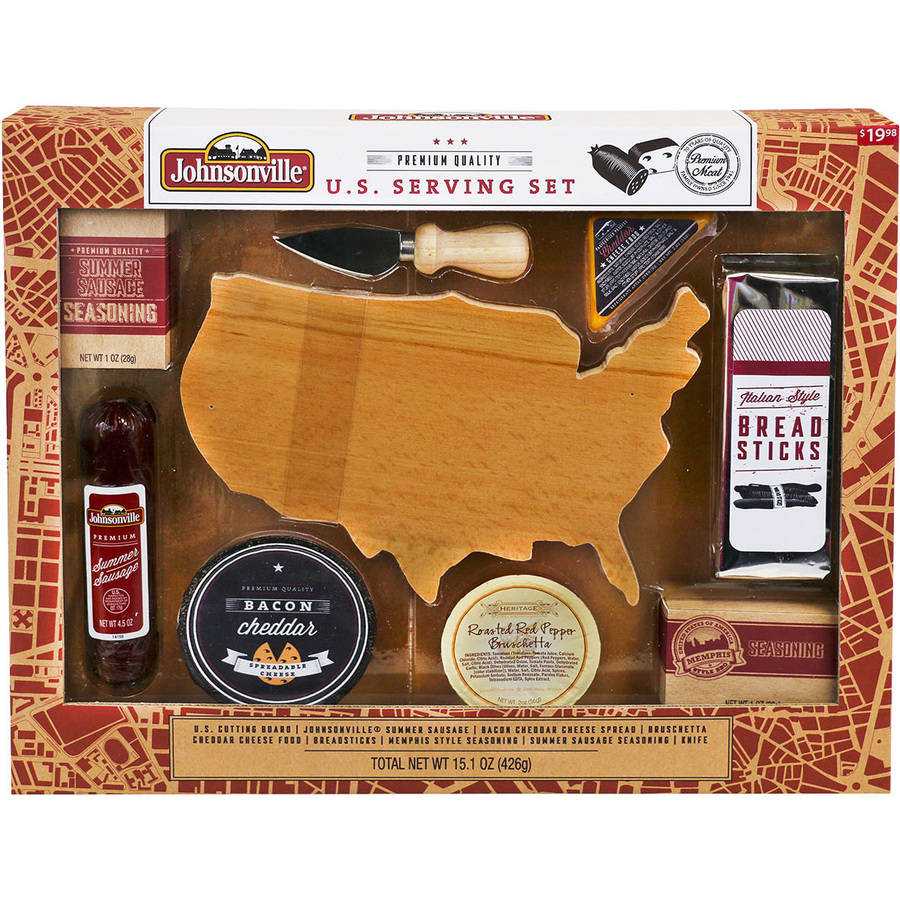 Johnsonville U.S. Serving Set, 9 pc
