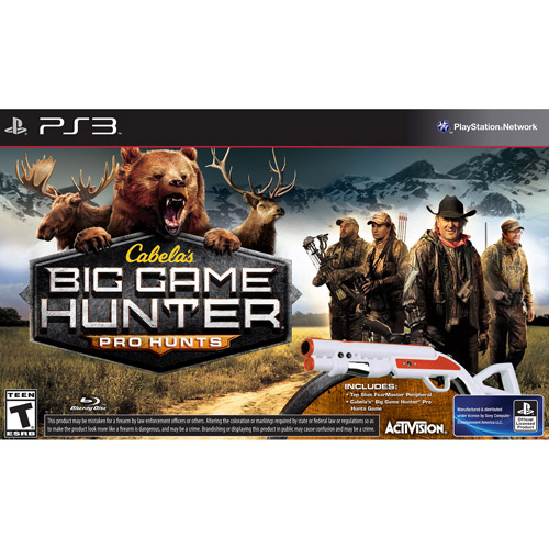Cabela's: Big Game Hunter Pro Hunts with Gun - PlayStation 3