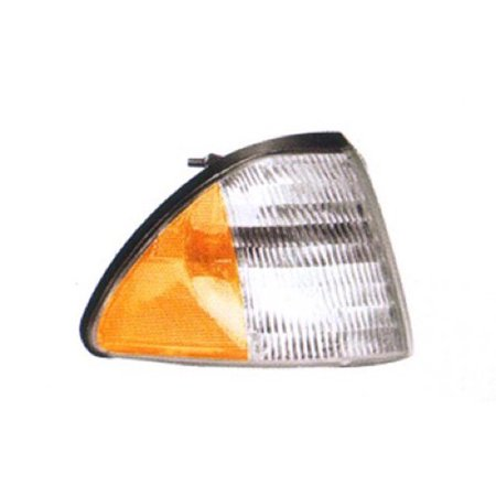 Go-Parts OE Replacement for 1987 - 1993 Ford Mustang Side Marker Light Assembly / Lens Cover - Front Right (Passenger) Side E7ZZ 15A201 A FO2551103 Replacement For Ford Mustang ()