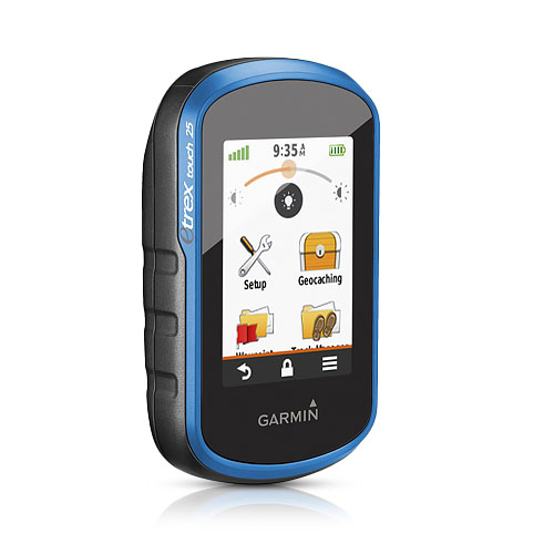 Garmin 010-01325-00 eTrex Touch 25 Waterproof Handheld GP...
