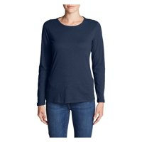 Eddie Bauer Women's Legend Wash Slub Long-Sleeve Crew