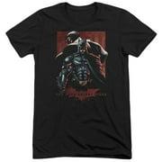 Dark Knight Rises Batman & Bane Mens Tri-Blend Short Sleeve Shirt