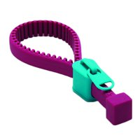 Creative Silicone Bottle Opener Zipper Opener Screw Cap Jar Openers Multi Purpose Can Opener For Outdoor Camping