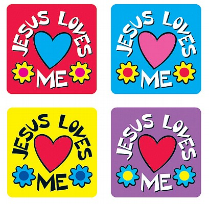 Jesus Loves Me Sticker Pack
