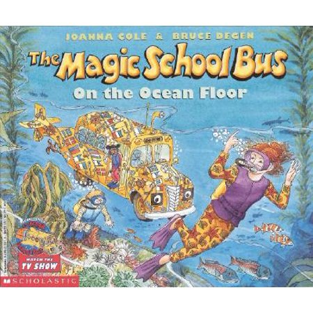 Magic School Bus Collection - The Magic School Bus on the Ocean Floor (Paperback)