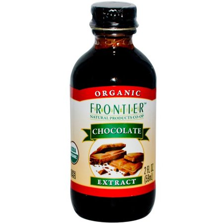 Frontier Chocolate Extract  Certified Organic  2 Oz