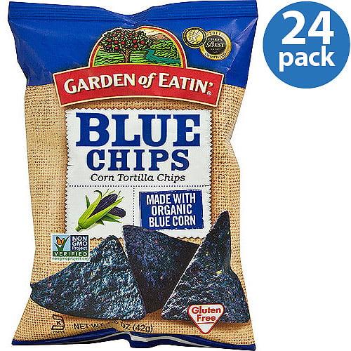 Garden of Eatin Blue Corn Tortilla Chips 15 oz Pack of 24