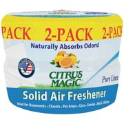 Citrus Magic Pure Linen Solid Air Freshener, 8 oz, 2 count