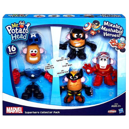 Marvel Mixable, Mashable Heroes! Super Hero Collector Pack Mr. Potato Head](Super Heero)