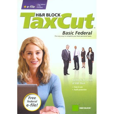 H Block TaxCut 2008 Basic Federal + e-file