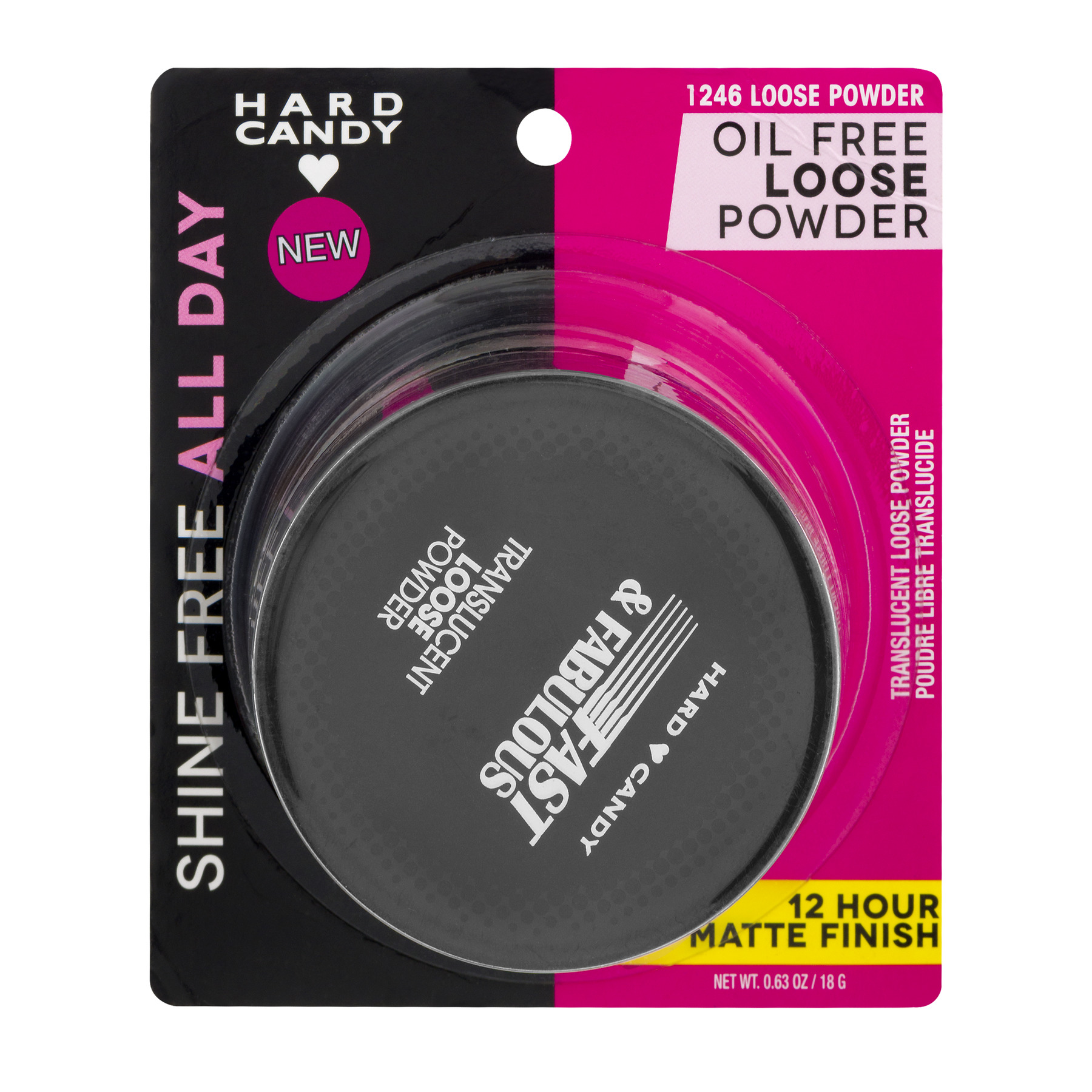 Hard Candy Fast & Fabulous Loose Translucent Powder, 0.63 oz