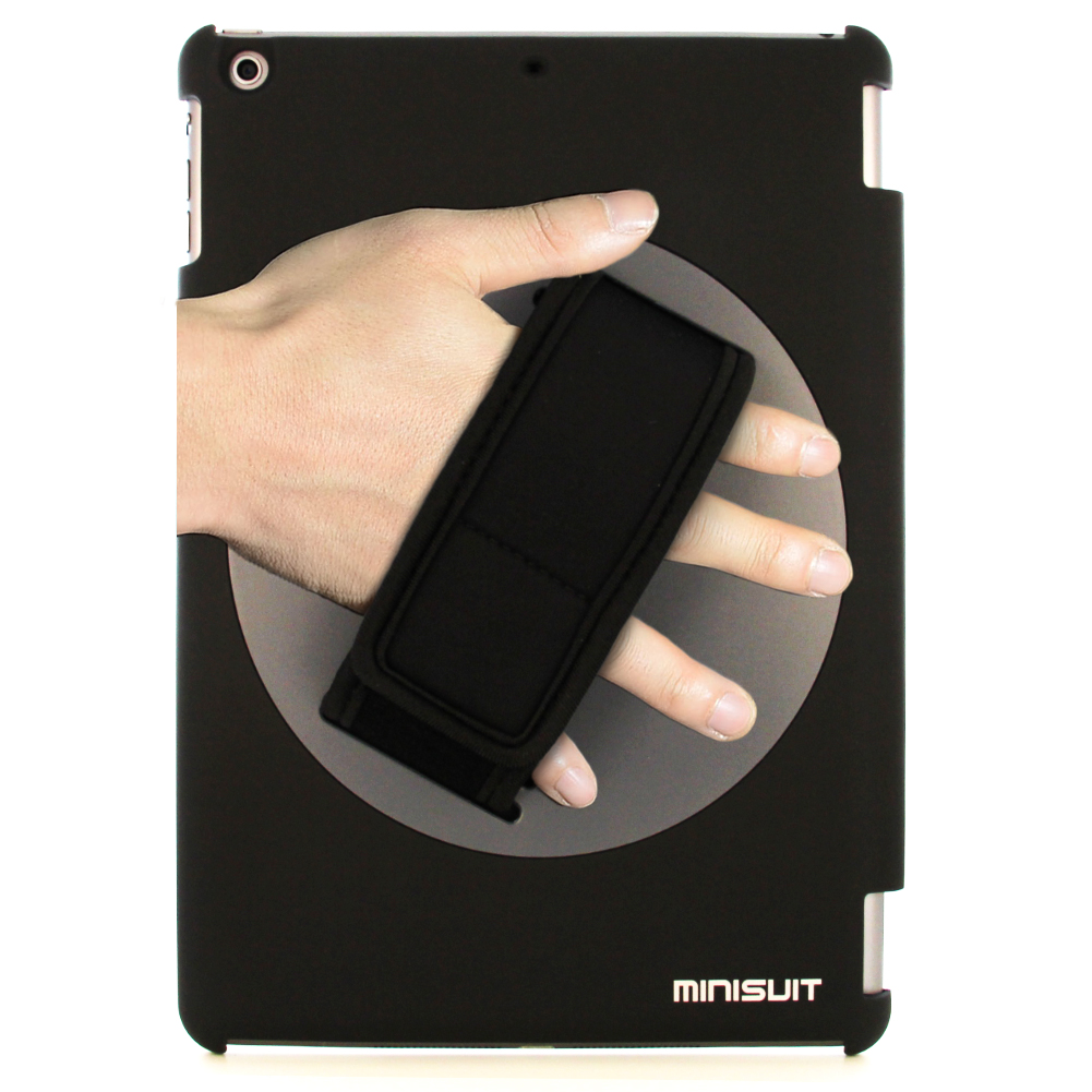 Minisuit for iPad Air 1 (2013) Snap Rotating + Hand Strap Case Cover