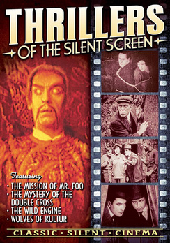 Thrillers of the Silent Screen (DVD) by