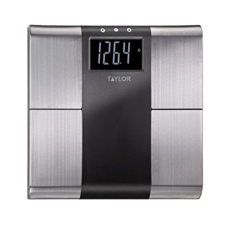 bathroom scale walmart. Taylor 5780F Stainless Steel Body Analysis Bathroom Scale