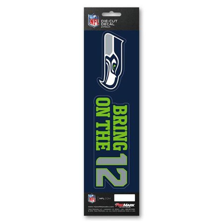 MKW 8162029127 Seattle Seahawks Decal Die Cut Slogan Pack - image 1 de 1