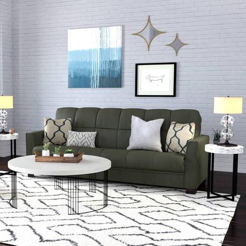mainstays baja futon sofa sleeper bed, multiple colors - walmart